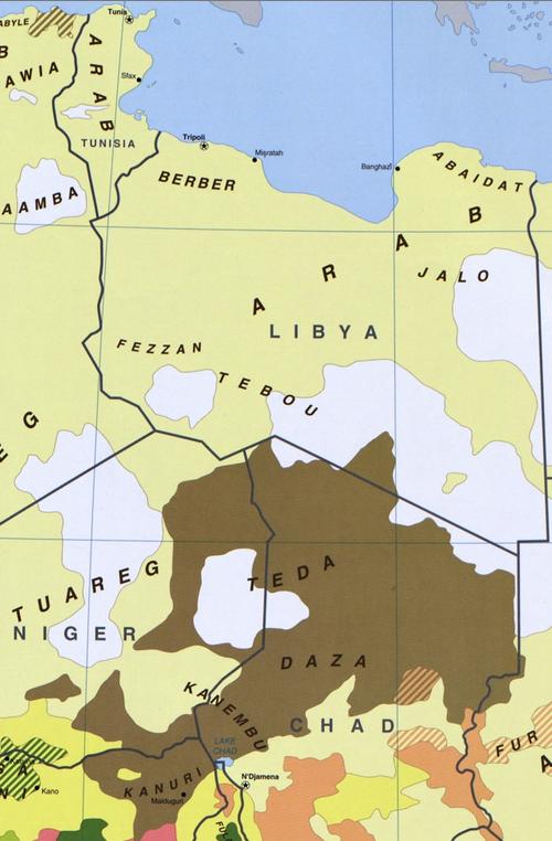 Libya Toubou Ethnic Group